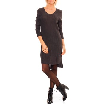 LPB Woman - Pulloverkleid mit Wollanteil - anthrazit