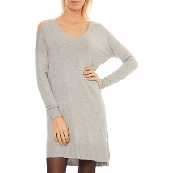 LPB Woman - Pull - gris chiné