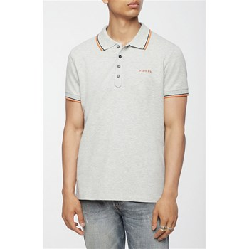 Diesel - Randy-Broken - Polo manches courtes - gris
