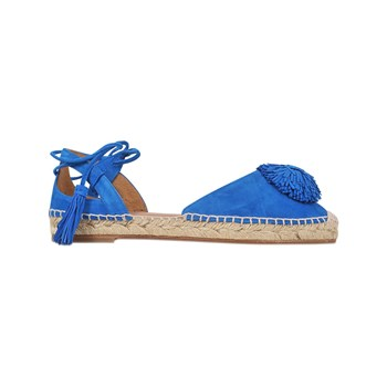 Aquazzura - Espadrillas in pelle - blu