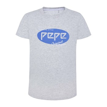 Pepe Jeans London - Oscar - T-shirt manches courtes - gris