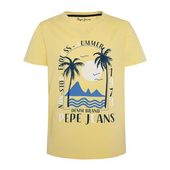 Pepe Jeans London - Ren - T-shirt manches courtes - jaune
