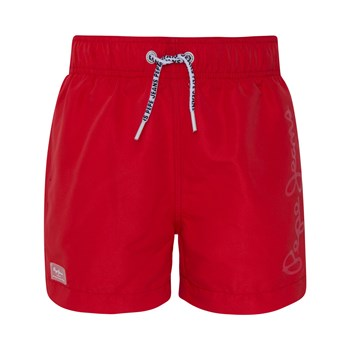 Pepe Jeans London - Guido - Boardshort - rouge