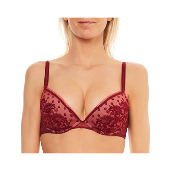 Maison Lejaby - Baisers De Paris - Reggiseno push-up - bordeaux