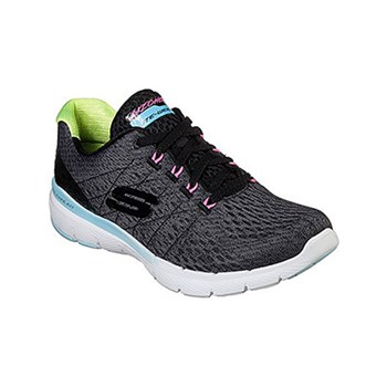 Skechers - Flex - Baskets basses - noir