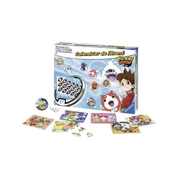 Ravensburger - Yo-Kai Watch - Adventskalender - blauw