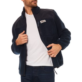 Pepe Jeans London - Groucho - Giacca pile - blu scuro