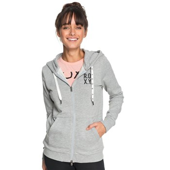 Roxy - Sweat à capuche - gris