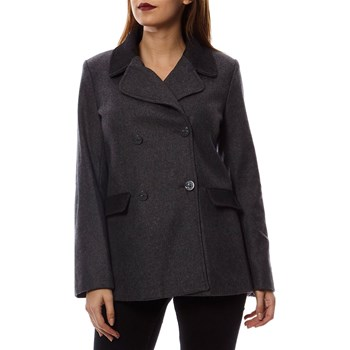 Naf Naf - Mary - Manteau 70% laine - anthracite
