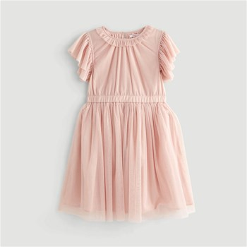 Monoprix Kids - Robe tulle - rose