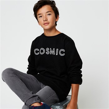 Monoprix Kids - Sweat imprimé - noir