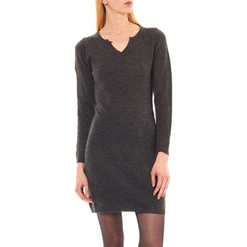 Maille et cachemire - Lea - Robe pull - anthracite