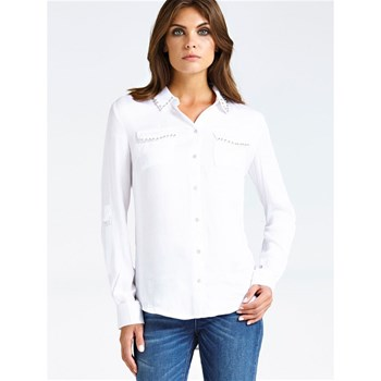 Guess - Chemise manches longues - blanc