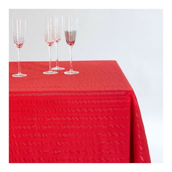 Monoprix - Nappe rectangle - rouge