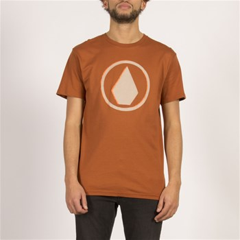 Volcom - Burnt bsc ss - T-shirt manches courtes - bronze