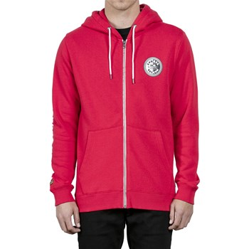 Volcom - Burger x vlcm zip - Sweat à capuche - rouge