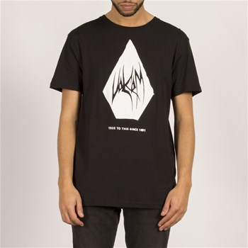 Volcom - Carving block bsc ss - T-shirt manches courtes - noir