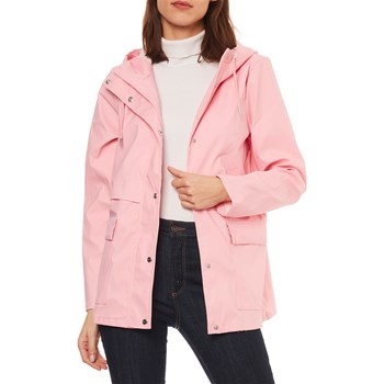 Only - Train - Parka - rose