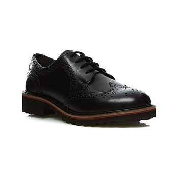 Kickers - Rony - Derbies  en cuir - noir