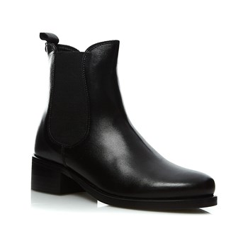 Kickers - Pearlie - Bottines en cuir - noir