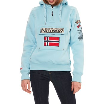 Geographical Norway - Gymclass - Sweat-shirt - bleu ciel