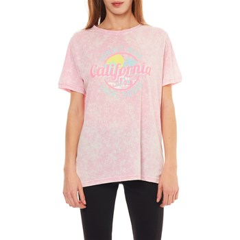 Undiz - Largetopiz Palemiz - T-shirt - rose