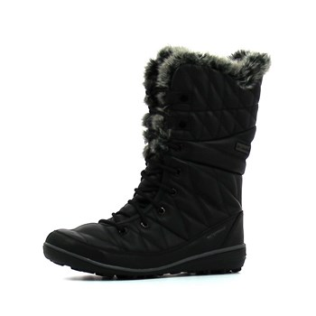 Columbia - Heavenly omni-heat leather after dark - Bottes - noir