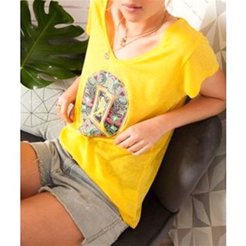 Little Marcel - Tibi - T-shirt manches courtes - jaune