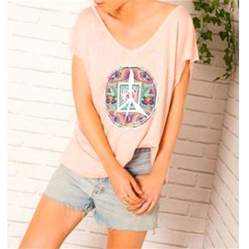 Little Marcel - Tisco - T-shirt manches courtes - rose
