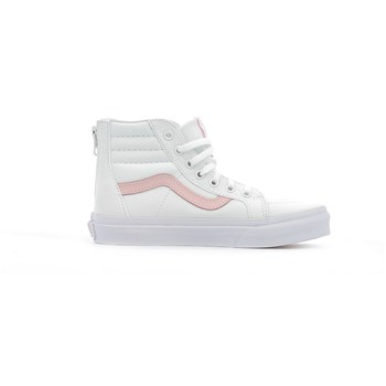Vans - Sk8-hi zip junior - Baskets montantes - blanc