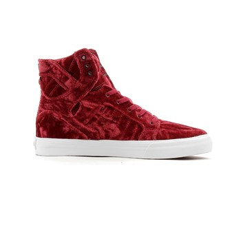 Supra - Kids skytop - Baskets montantes - rouge