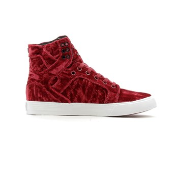 Supra - Wmns skytop - Baskets montantes - rouge