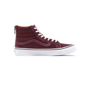 Vans - Sk8-hi slim - Baskets montantes - bordeaux