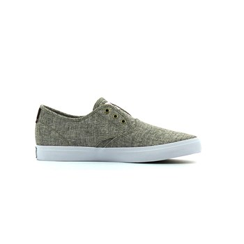 Quiksilver - Shorebreak deluxe - Baskets basses - gris