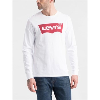 Levi's - Graphic - Langärmeliges T-Shirt - weiß