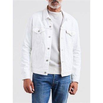 THE TRUCKER - VESTE EN JEAN - BLANC Levi's
