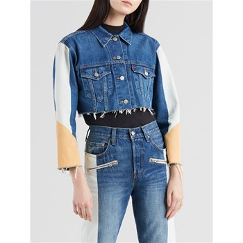 Levi's - Cut Off Crop - Giacca in jeans - blu