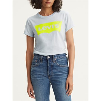 Levi's - The Perfect - Kurzärmeliges T-Shirt - blau