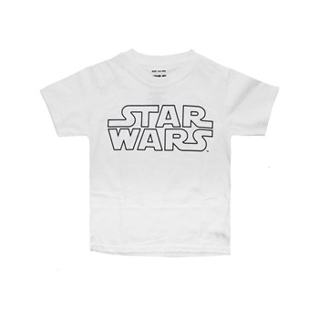 Star Wars - Logo - T-shirt manches courtes - blanc