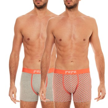 Pepe Jeans London - Pack de 2 boxers - gris