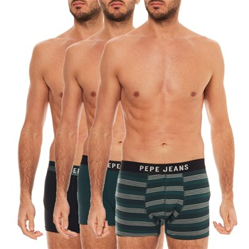 Pepe Jeans London - Ritchie - Set van 3 boxershorts - kaki