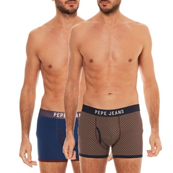 Pepe Jeans London - Clay - Set van 2 boxershorts - marineblauw