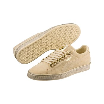 Puma - Sneakers in pelle - beige