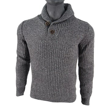Petrol Industries - Knit - Pull - gris