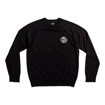 DC Shoes - Sabotage raglan boy - Pull - noir