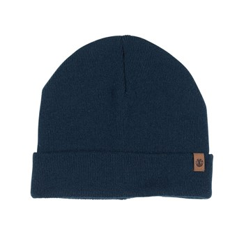 Element - Carrier ii beanie - Bonnet cache-oreille - bleu marine