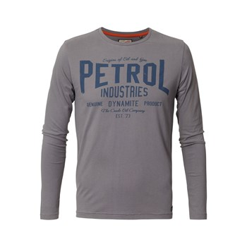 Petrol Industries - T-shirt ls tlr106 - T-shirt manches longues - gris