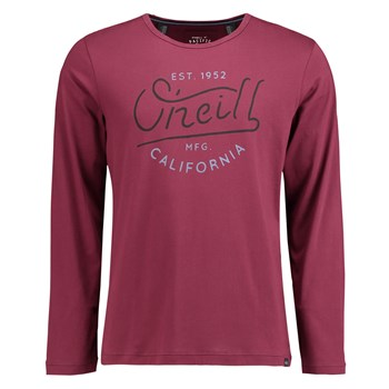 O'Neill - Oceanside long slv top - T-shirt manches longues - rouge