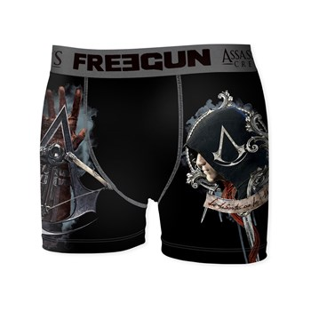 Freegun - Lib Assassin's Creed - Boxer - nero