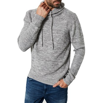 Petrol Industries - Knitwearkwc253 - Sweat à capuche - gris
